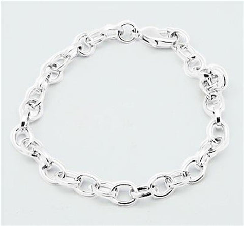 Silver Bracelet  Necklace Extender with Lobster Clasp 828x