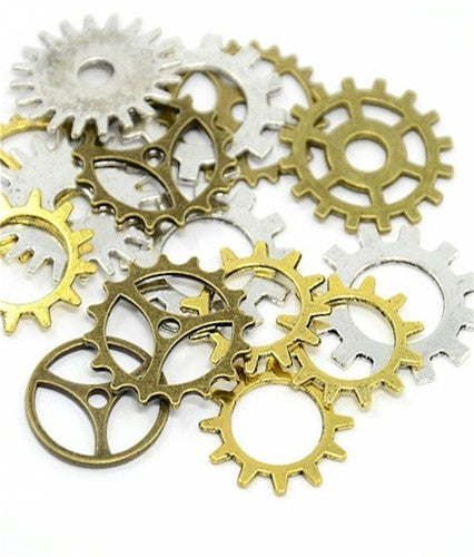 Watch Parts Clock Parts Watch Gears 1oz. Mixed Lot Steampunk Supplies 916x