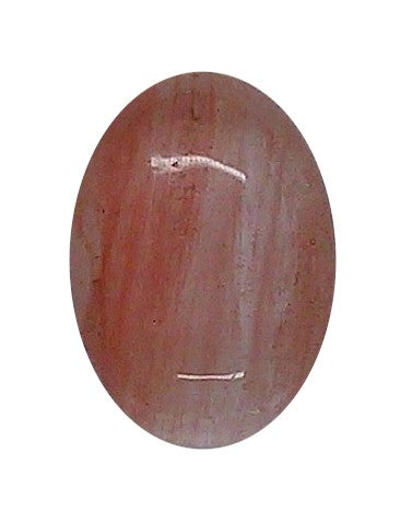 18x13mm Cherry Quartz Gemstone Flat Back Cabochon S2105