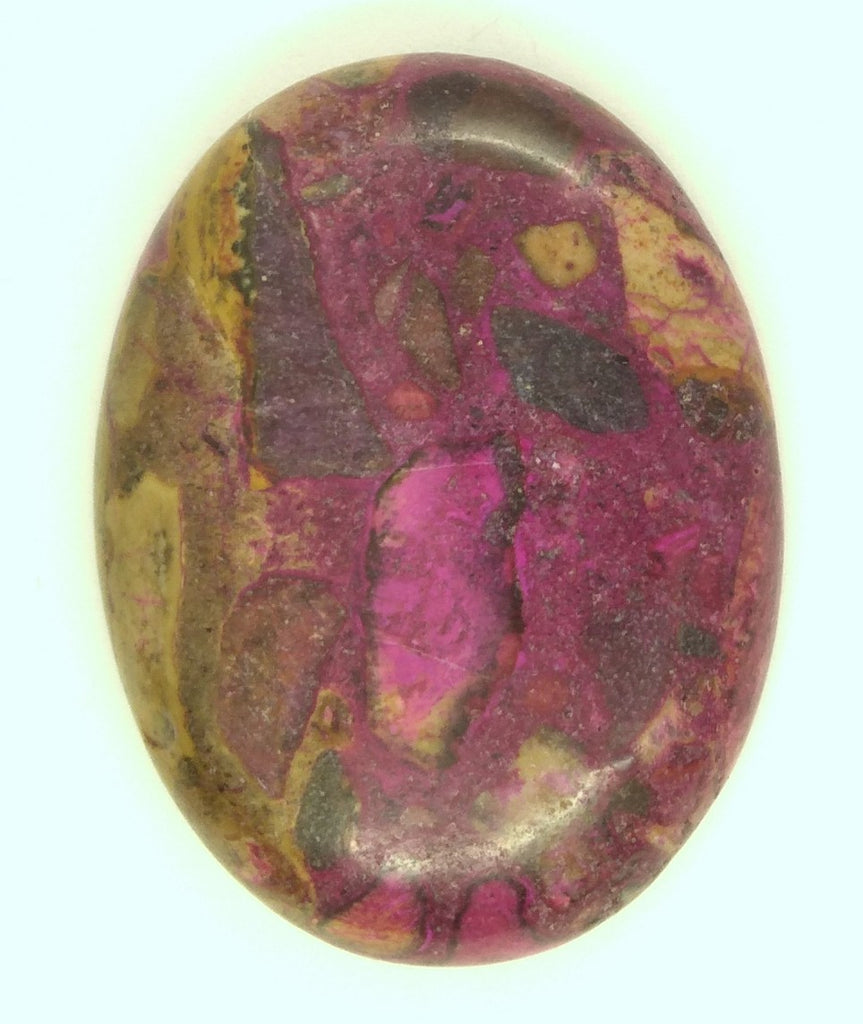 40x30mm Dyed chrysanthemum stone cabochon. Single Piece you are buying this stone S2153L