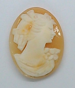 25x19mm Italian Real Shell Cameo unmounted loose Genuine Hand Carved Cameo C117