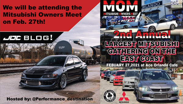 We will be attending the Mitsubishi Owners Meet!