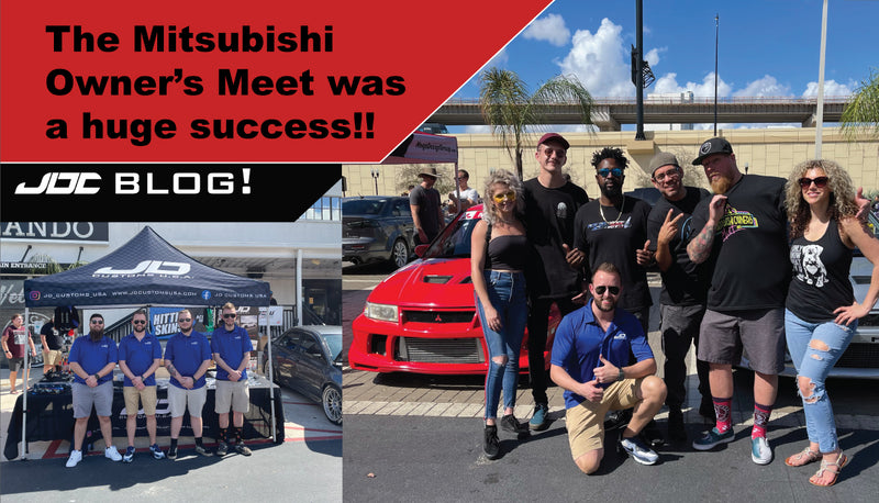 The Mitsubishi Owner's Meet was a Huge Success!!