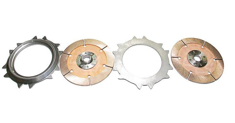 Competition Clutch Twin Rebuild Plates and Discs (Evo 8/9) - JD Customs U.S.A