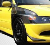 JDC OEM Style Carbon Fiber Fenders (Evo 8/9) - JD Customs U.S.A