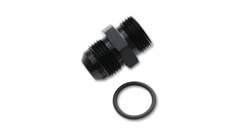 Vibrant -8AN Flare to -8AN Straight Cut Adapter Fitting with O-Ring