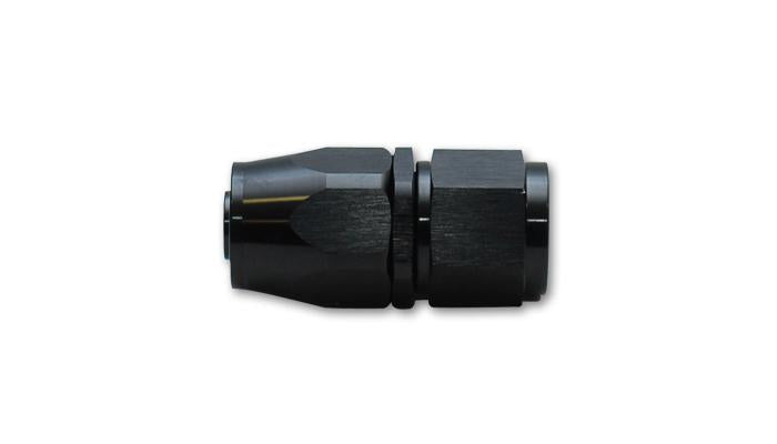 Vibrant Straight Swivel Hose End Fitting; Size: -8AN - JD Customs U.S.A