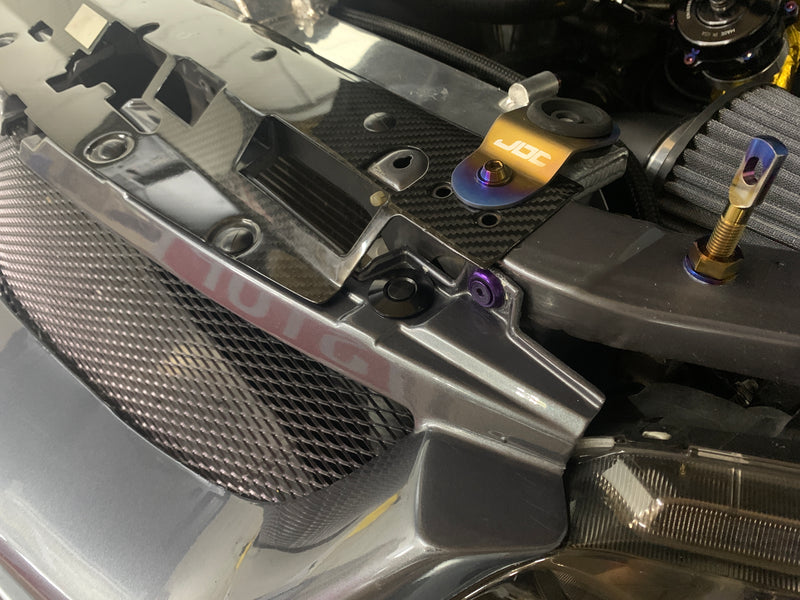 JDC Front Bumper Quick Release | Front Core Support Kit (Evo 8/9)
