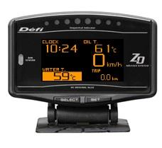 DEFI Advance ZD OLED Multi Display Gauge (Works with Defi Advance Contorl Unit) - JD Customs U.S.A