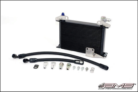 AMS UPGRADED OIL COOLER KIT | 2006-2007 MITSUBISHI EVOLUTION EVO IX 2006-2007 (AMS.01.02.0101-2)