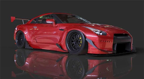 GReddy 09+ Nissan GT-R R35 Full Rocket Bunny Wide-Body Aero Kit w/ Wing