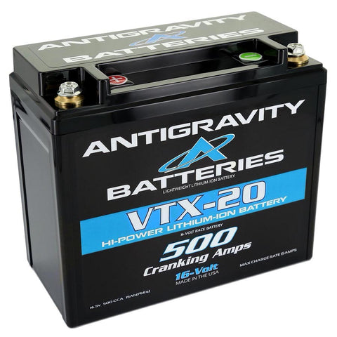 Antigravity Batteries Lithium Battery 500CCA 16Volt 4.5Lbs 20 Cell