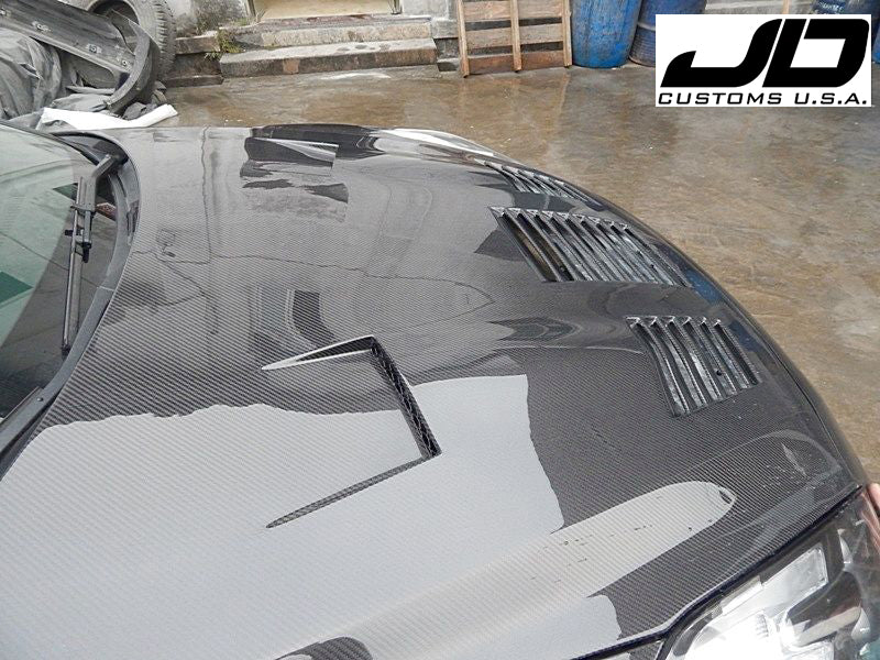 JDC TP Style FRP/CF Hood (9-20 GT-R)