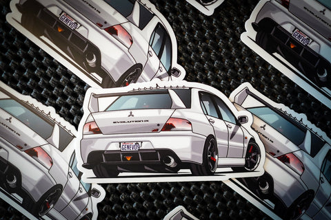 Genevo9 Flexin' Sticker - JD Customs U.S.A