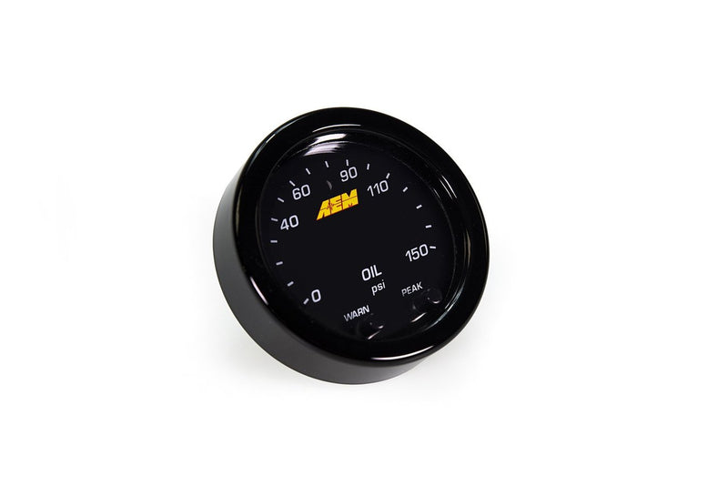 AEM X-Series Oil Pressure Gauge - JD Customs U.S.A