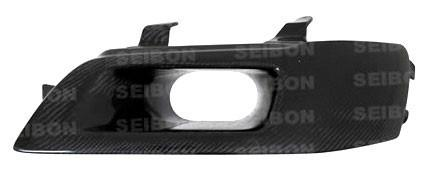 SEIBON CARBON FIBER DRIVER SIDE HEADLIGHT DELETE | 2003-2006 MITSUBISHI LANCER EVOLUTION 8/9