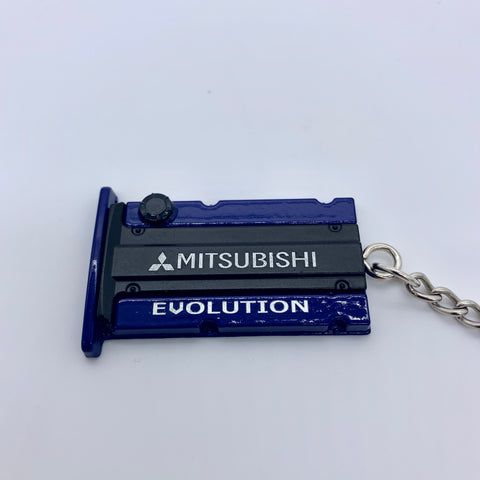 Evo/4G63 Engine Cover Keychain - JD Customs U.S.A