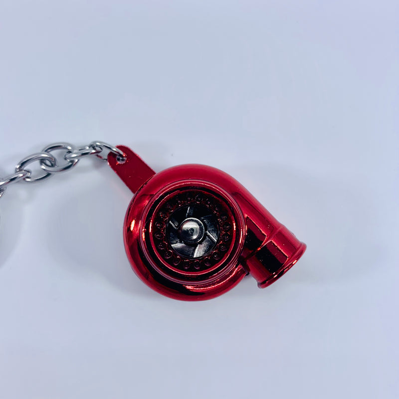 Spinning Turbo Charger Keychain Multiple Colors - JD Customs U.S.A