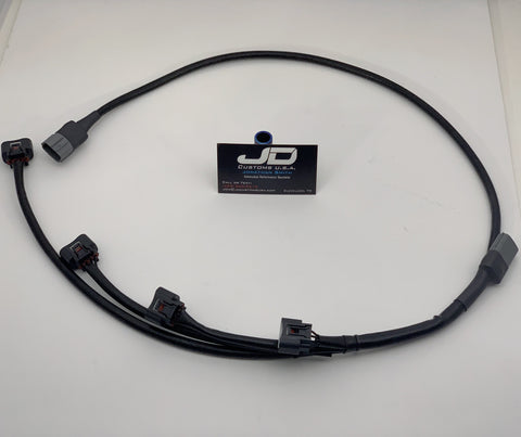"JDC ""Hideaway"" Coil on Plug Wire Harness (Evo 4-9)"