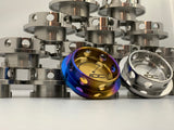 JDC Titanium Oil Cap (Evo 4-9) World's first titanium oil cap for Evo 4-9! - JD Customs U.S.A