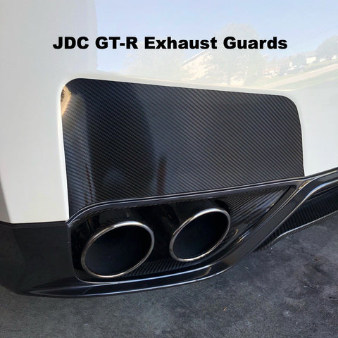 JDC Bumper Exhaust Guards for 09-16 Nissan GT-R