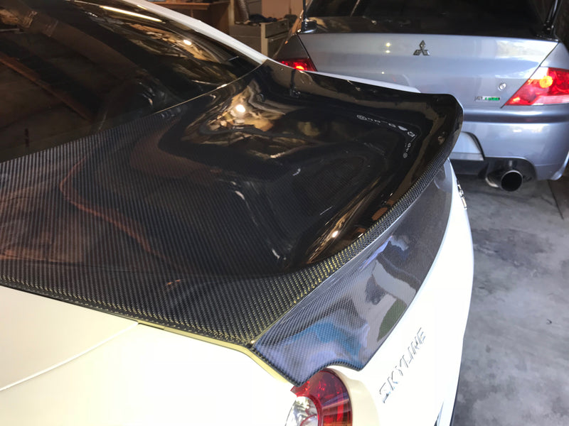 JDC DLK Style Carbon Fiber Trunk (2009-2014 Nissan GT-R) - JD Customs U.S.A