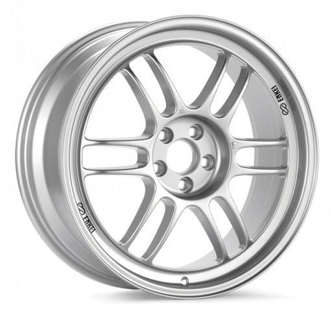 ENKEI RPF1 18X10.5 5X114.3 15MM OFFSET 73MM BORE SILVER WHEEL | (379-8105-6515SP) - JD Customs U.S.A