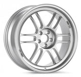 RPF1 17X10 5X114.3 18MM OFFSET 73MM BORE SILVER WHEEL BY ENKEI