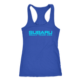 Subaru Rally Team USA Women's Racerback Tank Top