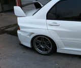 JDC Voltex Style Rear Wide Body Flares (Evo 7/8/9) - JD Customs U.S.A