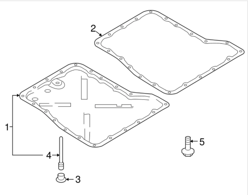 R35 Nissan GT-R Transmission Pan Gasket (31397-JF00A) - JD Customs U.S.A