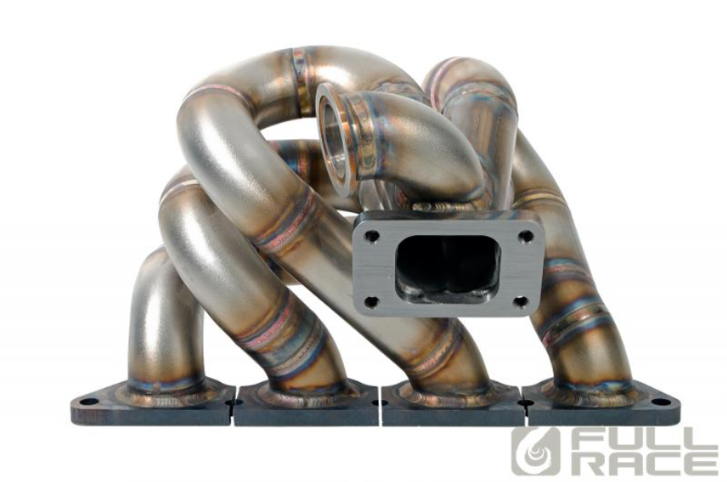 Full Race ProStreet Tubular Equal Length Turbo Manifold (Evo 4-9) - JD Customs U.S.A