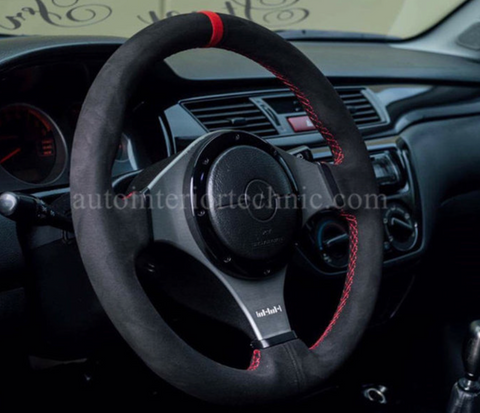 Auto Interior Technic Steering Wheel Wrap (Evo 8/9) - JD Customs U.S.A