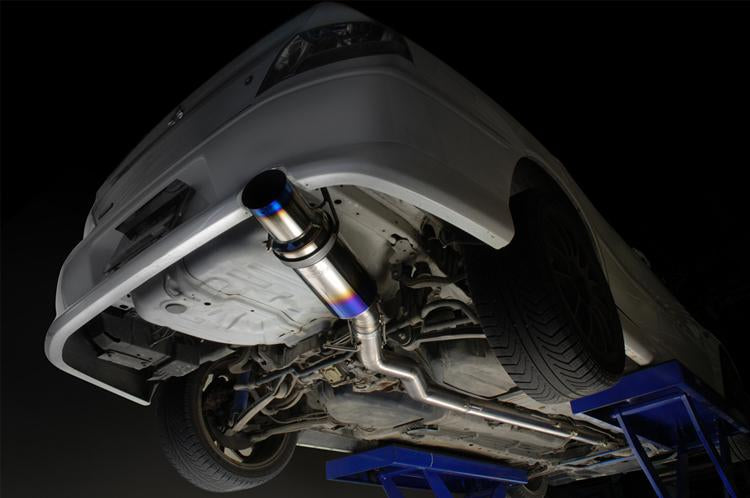 Tomei Expreme Titanium Cat-Back Exhaust (Evo 8/9) - JD Customs U.S.A