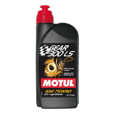 Motul Gear Oil 300 75W90: (Non-LSD) Recommended for the Evo 8/9 Transmission - JD Customs U.S.A