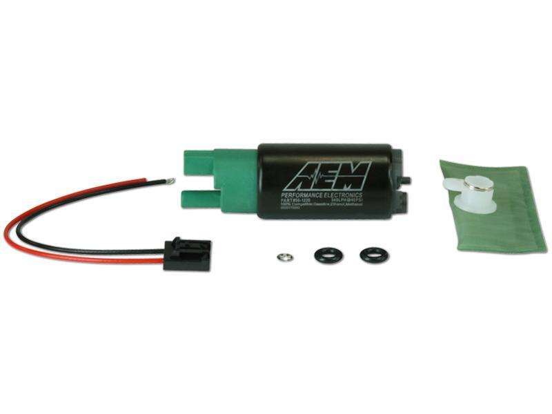 AEM 340LPH High Flow In-Tank Fuel Pump E85 Compatible 65mm w/ Offset Inlet (Universal) - JD Customs U.S.A