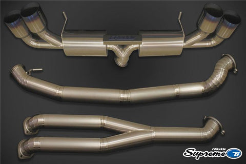 GREDDY SUPREME TI EXHAUST 94MM FOR NISSAN GT-R R35 2009+ (10128294) - JD Customs U.S.A
