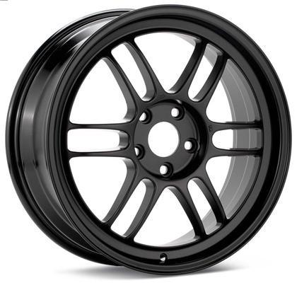 RPF1 18X10.5 5X114.3 15MM OFFSET 73MM BORE MATTE BLACK WHEEL BY ENKEI - JD Customs U.S.A
