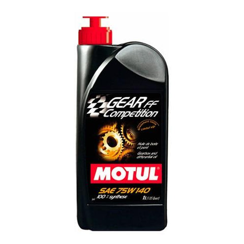 Motul Gear FF Competition 75W140: (LSD) Recommended for the Evo 8/9 Transfer Case - JD Customs U.S.A