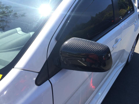 REXPEED CARBON FIBER MIRROR COVERS | 2003-2007 MITSUBISHI EVO 8/9 (R15)