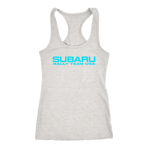 Subaru Rally Team USA Women's Racerback Tank Top - JD Customs U.S.A