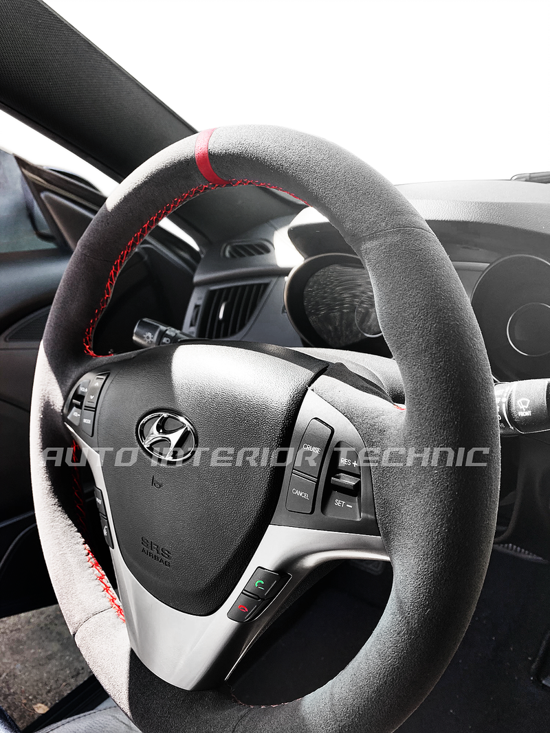Auto Interior Technic Steering Wheel Wrap (Genesis Coupe 09-13)