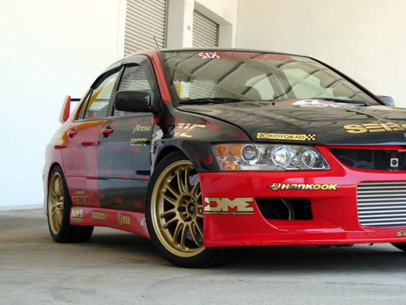 Seibon Carbon Fiber 10mm Wider Fenders (Evo 8/9)