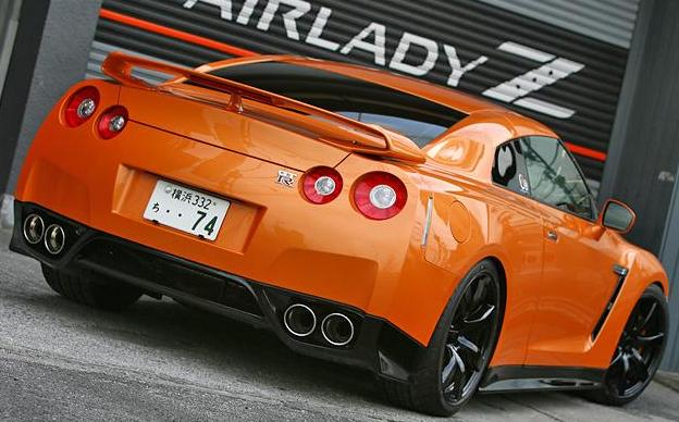 JDC Zele Style Carbon Fiber Rear Lip/Under Spoiler (09-11 GT-R) - JD Customs U.S.A
