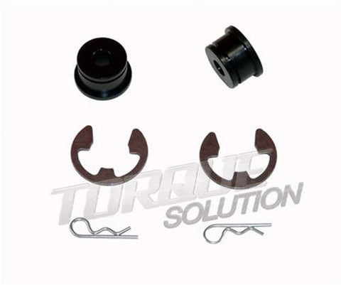 TORQUE SOLUTION 6 SPEED SHIFTER CABLE BUSHINGS (MITSUBISHI EVO 8/9) TS-SCB-300 - JD Customs U.S.A