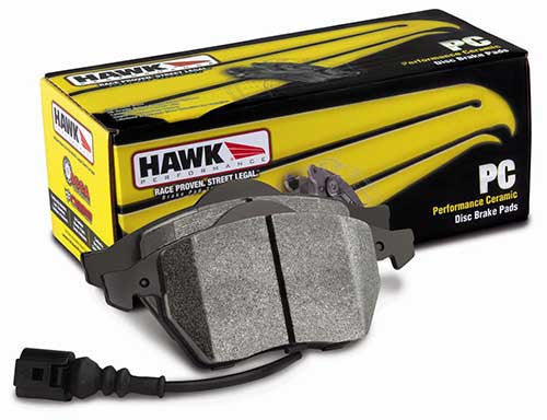 Hawk Ceramic Brake Pads (Evo 8/9/X/STi | Multiple Fitments) - JD Customs U.S.A