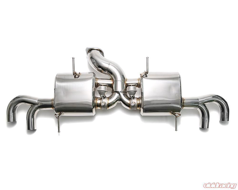 Armytrix Stainless 90mm Valvetronic Cat-Back Exhaust (09-17 GT-R) - JD Customs U.S.A