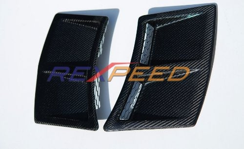 Rexpeed Dry Carbon Rear Bumper Ducts (15-20 WRX/STI)