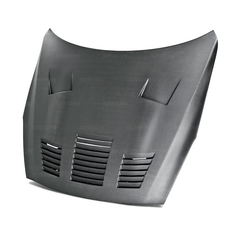 Seibon GT-Style Dry Carbon Fiber Hood (09-16 GT-R) - JD Customs U.S.A