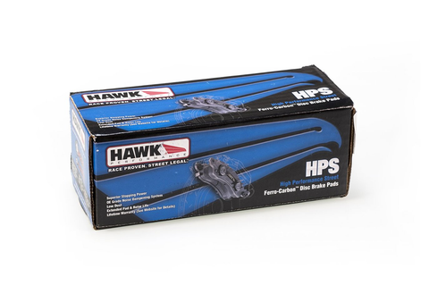 HAWK HPS BRAKE PADS (MITSUBISHI EVO 8 / 9) - JD Customs U.S.A